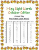 I-Spy Sight Words Word Work - PrePrimer Words (Oct. Editio