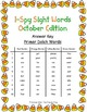 I-Spy Sight Words Word Work - Primer Words (Oct. Edition) Basic