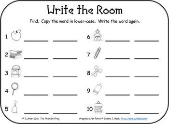 I-Spy Sight Words Word Work - Primer Words (September Edition) Basic