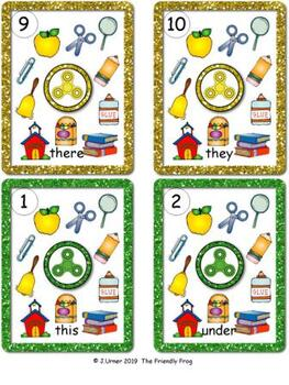 I-Spy Sight Words Write-the-Room Fun Primer Bundle (September Edition)