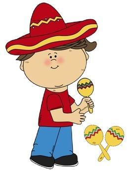 I See Tiny Spanish Sight Words - Cinco de Mayo