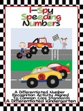 I-Spy Speeding Numbers-Differentiated Number Recognition Common Core Fun