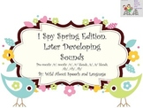 I Spy Spring Edition (Later Developing Sounds)