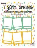 I Spy Spring Worksheet