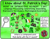 I Spy St Patrick's - Mixed Groups (Language Processing & P