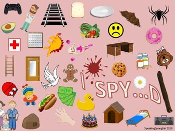 I Spy Stops! /P, B, T, D, K, G/ Articulation Practice