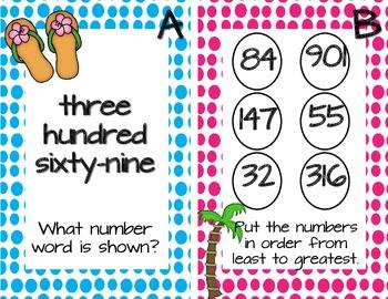 I Spy Summer Vacation--Math Center Activity