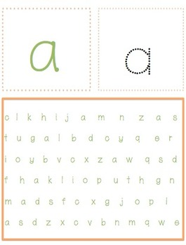 """I Spy The Alphabet"" Lowercase"