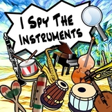 I Spy The Orchestra & World Instruments - Tests, Reviews, Homework & More!