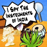 I Spy Game -  The Instruments of India Studies