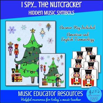 (I Spy...) The Nutcracker- Hidden Music Symbols