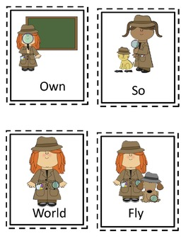 I Spy Themed High Frequency Words Sets 4-6 Write the Room