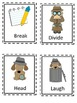 I Spy Themed High Frequency Words Write the Room Set Eight