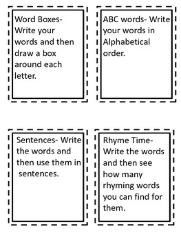 I Spy Themed High Frequency Words Write the Room Set Three