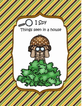 I Spy Things Seen in a Home
