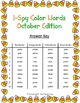 I-Spy Tiny Color Words (October Edition) Set 2
