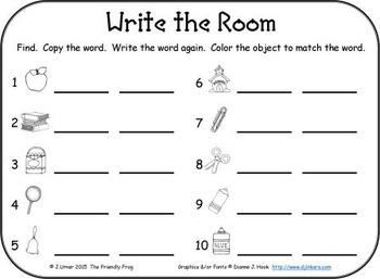 I-Spy Tiny Color Words (September Edition) Set 1