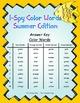 I-Spy Tiny Color Words (Summer Edition) Set 2
