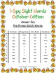 I-Spy Tiny Sight Words - PrePrimer Words (October Edition) Set 2