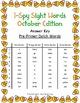 I-Spy Tiny Sight Words - PrePrimer Words (Oct. Edition) Set 2