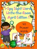 I-Spy Tiny Sight Words - Primer Words (April Edition) Set 1