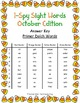 I-Spy Tiny Sight Words - Primer Words (October Edition) Set 2