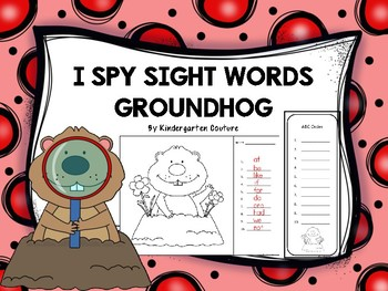 I See Tiny Words -Groundhog Edition FREE