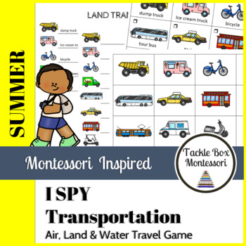 Transportation Land Air Water Worksheets & Teaching