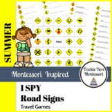 Road Signs | I Spy Travel Games | Montessori Inspired