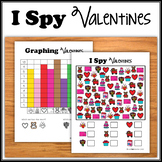 I Spy - Valentines  (BW + Color)  NO PREP