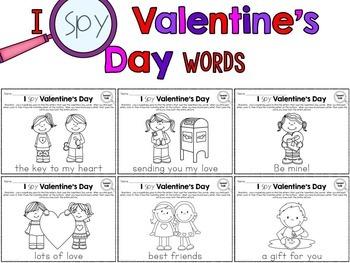 I Spy - Valentine's Day Words