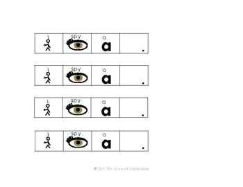 I Spy Visuals--Freebie!