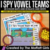 I Spy Vowel Team Words