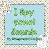I Spy - Find the Picture - Vowels {Differentiated Phonics
