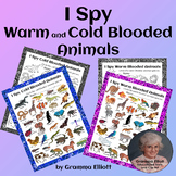 Animal Classification Worksheets Warm and Cold Blooded I Spy Fun