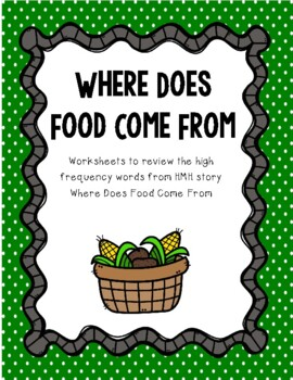 I Spy - Where Does Food Come From