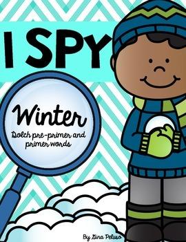 Sight Word Literacy Station: I Spy
