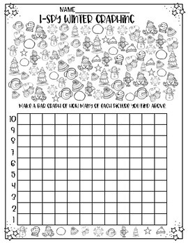 I-Spy Winter Graphing