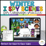I Spy Winter Language Activity Scenes for Classroom and Distance Learning