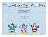 I Spy Winter Math Activities