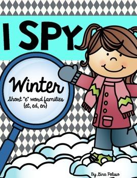 Short E Literacy Station: I Spy