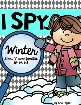 Short E Literacy Station: I Spy