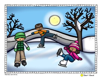 I Spy Winter - Short and Long Vowels
