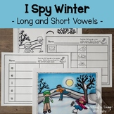 I Spy Winter - Long and Short Vowels