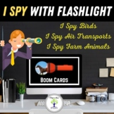 I Spy With Flashlight Boom Cards। Distance Learning
