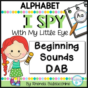 I Spy With My Little Eye ~ Alphabet Dab