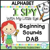 I Spy With My Little Eye  ALPHABET DAB