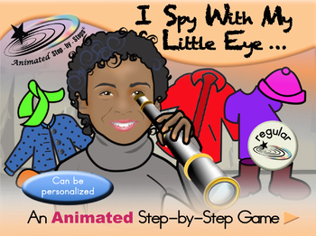 I Spy With My Little Eye - Animated Step-by-Step Game
