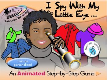 I Spy With My Little Eye - Animated Step-by-Step Game SymbolStix