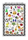 I Spy With My Little Eye Vocabularies and Sounds Game